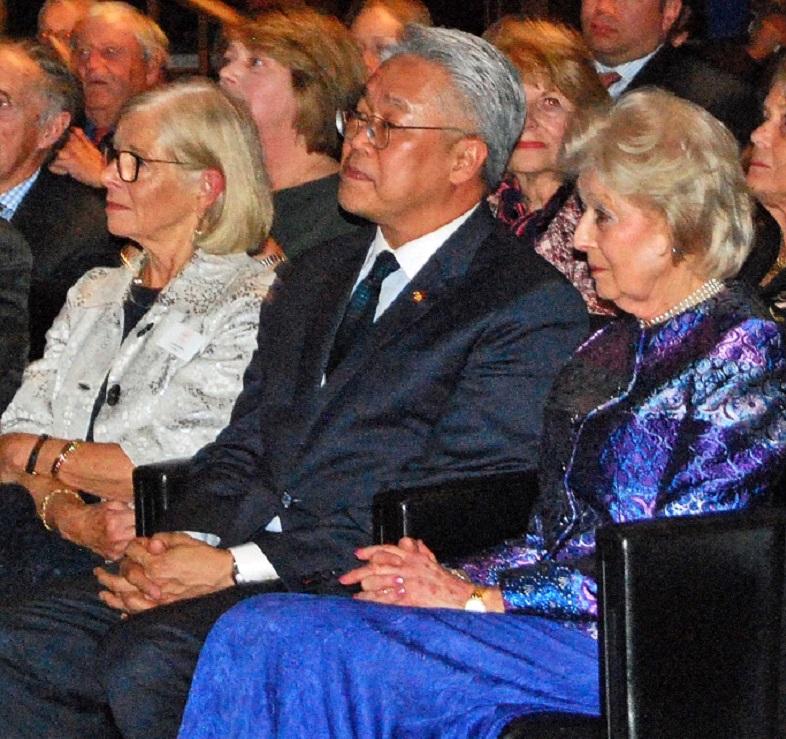 HRH, and HE Mr Pisanu Suvanajata, Ambassador to Thailand