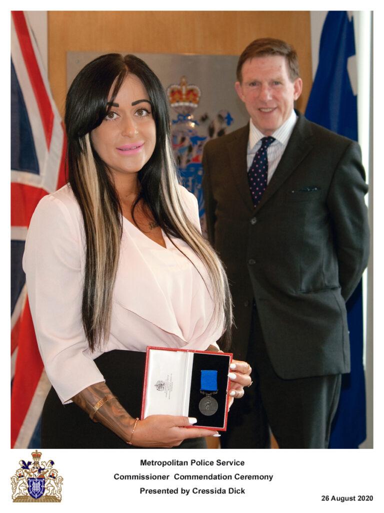 DC Natasha Holing MPS - Bronze Medal