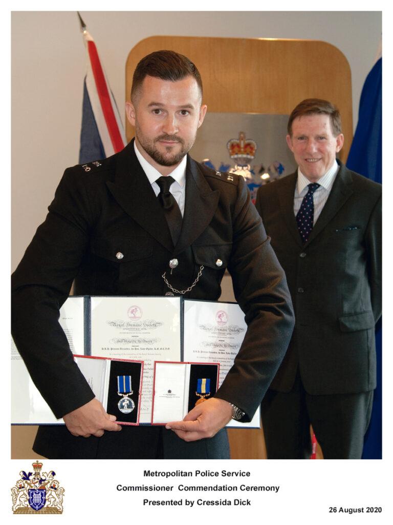 PC Allan Parker MPS - Police Medal 2019